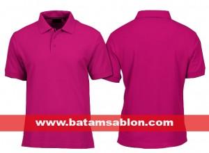 kaos polo polos lacosta di batam warna pink