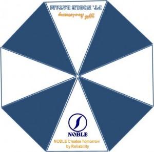 sablon payung PT  nobel batam