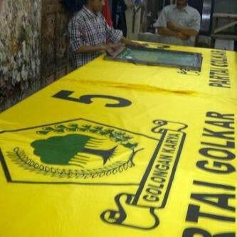 Sablon Bendera di Batam, jasa pembuatan bendera satuan Batam