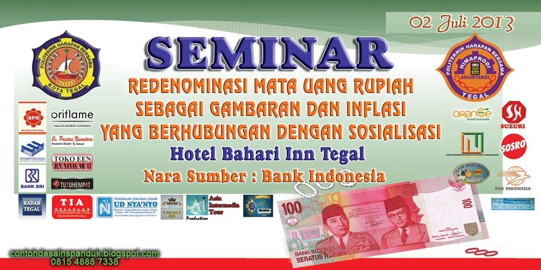 Contoh Spanduk Seminar Contoh Desain Banner Keren Di Batam Sablon