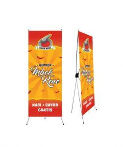 Harga X-banner di Batam