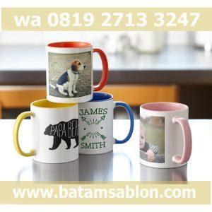 Jual mug custom batam, jual mug unik batam, jual mug murah,
