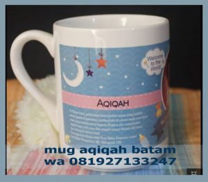 jual mug aqiqah batam