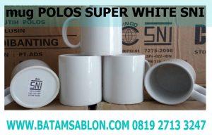 mug polos super white sni quality